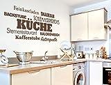 Wandtattoo Küchenwandtattoo Sternerestaurant Wanddekoration Küche Deko