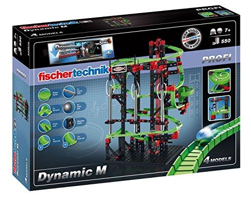 Fischertechnik 543677 - Kugelbahn Dynamic M mit Crazy Machines 3