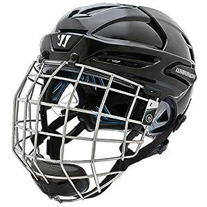 Warrior Pro Krown LTE Helm Combo Neues Modell Saison 14/15, Größe:S;Farbe:schwarz