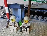 Modbrix 2339 – ✠ Afrika Korps Set VW Kübelwagen Typ 82 mit Wachhäuschen inkl. custom Wehrmacht Soldaten aus original Lego© Teilen ✠ - 2