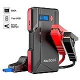 Suaoki P6 - Démarreur de voiture 800A, Booster Batterie Démarrage Voitures jusqu'à 6.0L gaz ou...