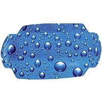 KLEINE WOLKE Nackenpolster »Bubble«, Badewannenkissen Nackenkissen blau, KLEINE WOLKE, Nackenpolster, blau