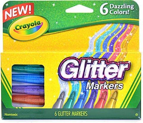 Crayola Glitter Markers 1 pcs sku# 1873462MA by Crayola