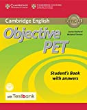 Cover of: Objective PET Student's Book with Answers with CD-ROM with Testbank   Louise Hashemi, Barbara Thomas