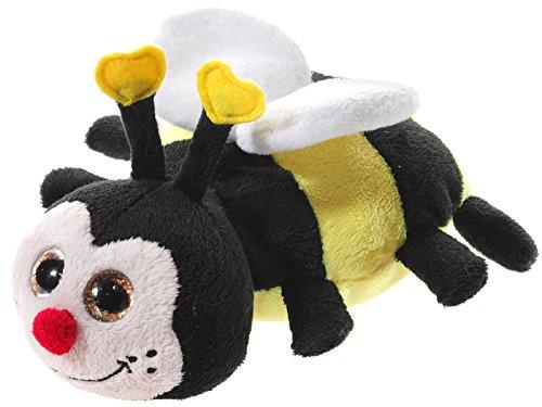 Heunec 449275 Plüschtier, Biene, schwarz/gelb/weiß