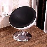 Comodo design ciotola sedia retro Furnituer cocktail lounge sedia Upholsteredl C13bianco-nero