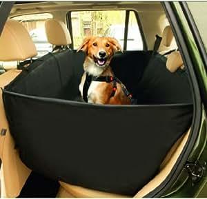 Karlie Couverture de protection de banquette arrière pour chien en voiture Noir 148 x 135 cm