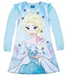 Disney Die Eiskönigin Elsa & Anna Mädchen Nachthemd 2016 Kollektion - blau (128)