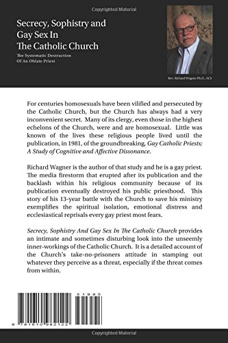 Secrecy, Sophistry and Gay Sex In The Catholic Church