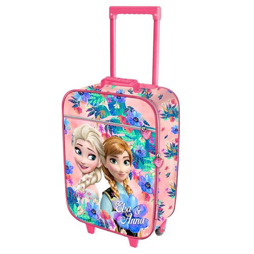 Karactermania 32705 frozen valigia per bambini, 46 cm, 26 litri, rosa