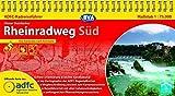 ADFC-Radreiseführer Rheinradweg Süd 1:75.000 praktische Spiralbindung, reiß- und wetterfest, GPS-Tracks Download: Von Karlsruhe nach Konstanz