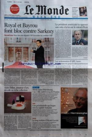 monde-le-no-19365-du-28-04-2007-royal-et-bayrou-font-bloc-contre-sarkozy-second-tour-deux-tiers-des-