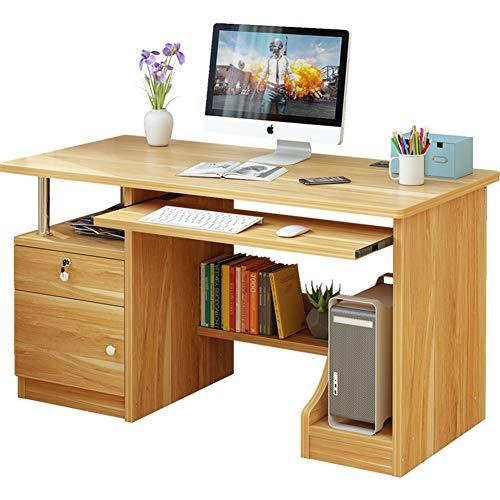 Wayward Computertisch Mit Hutch Und Schubladen,einfache Home Computer Schreibtisch,multifunktöne Studium Schreiben Desktop Stand Robust Workstation-a 100x50x75cm(39x20x30inch) (Mit Home-office Für Hutch Schreibtisch)