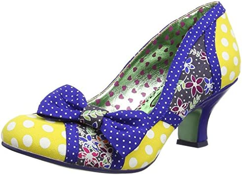 Poetic Licence by Irregular Choice Shake It, Zapatos de Tacón Mujer