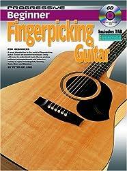 Progressive Beginner Fingerpicking Guitar (Progressive Series) by Peter Gelling (2003-12-31)