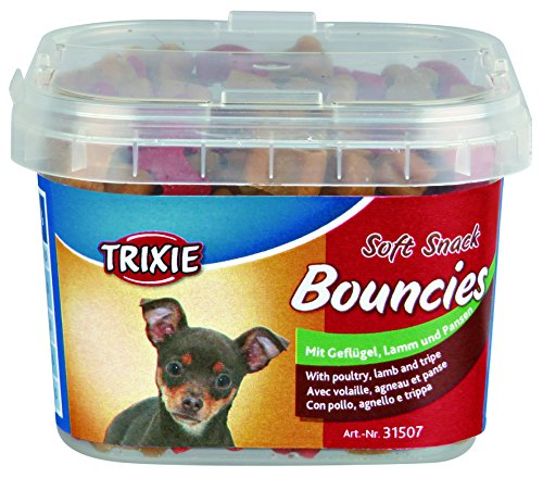 Soft Snack Bouncies, 140 g, Ave, Cordero y Tripa