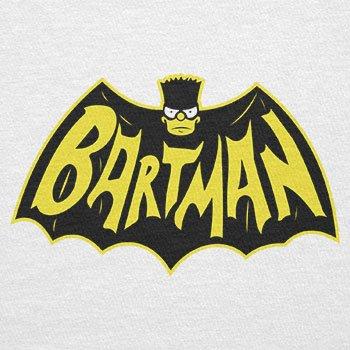 TEXLAB - Bartman - Herren Langarm T-Shirt Weiß