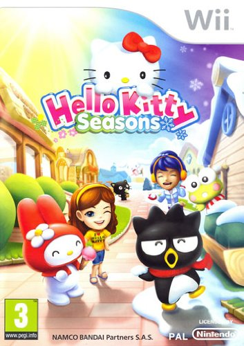 NINTENDO HELLO KITTY SEASONS WII
