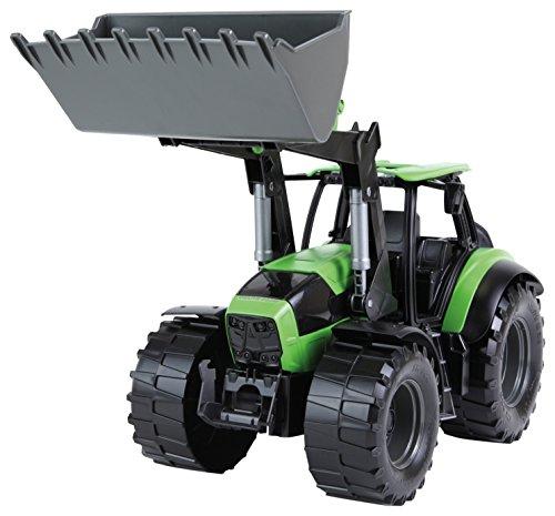 Lena 04603 - Worxx Traktor Modell Deutz-Fahr Agrotron 7250 TTV mit Frontlader, ca. 45 cm