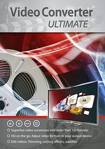 VideoConverter Ultimate - Umwandlung, Bearbeitung, Konvertierung für über 150 Formate in jedes beliebige Video und Audio Format - gutes Programm zum Video Schnitt - für Windows 10 / 8.1 / 8 / 7 Mkv Video Converter