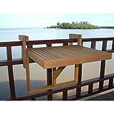 #2: Auspicious Home Juniper Multipurpose Folding Balcony Table