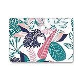 AQYLQ MacBook Schutzhülle/Hard Case Cover Laptop Hülle [Für MacBook Pro 13 Zoll mit Retina Display - ohne CD-Laufwerk: A1425/A1502] Blumen Muster Hülle, Bunte Blätter