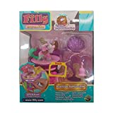 Lively Moments Filly Mermaids 1 Pferdchen auf lustige Tanzbühne / Pferd mit Swarovskistein Spielzeug / Spielfigur Mermaid mit grünem Schwanz