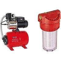 T.I.P. 31158 Hauswasserwerk HWW 1300/25 Plus TLS mit Trockenlaufschutz & Vorfilter für Garten Pumpen und Hauswasserwerke…