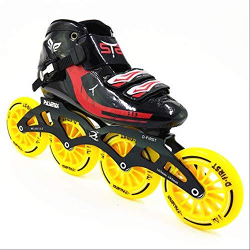 STBB Rollschuhe Speed Skates Roller Racing Skating Handgemachte Inline Speed Skat Skating Schuhe Rollschuhe Hohe Qualität 7.5