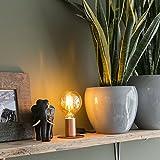 QAZQA Design/Modern / Schreibtischleuchte/Tischleuchte / Büroleuchte/Tischlampe / Lampe/Leuchte Facil Kupfer/Innenbeleuchtung / Wohnzimmer/Schlafzimmer / Küche/Nachttischleuchte Metall Z