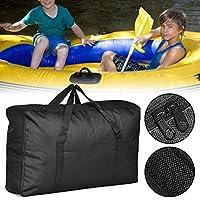 Wateralone - Bolsa de transporte para kayak o barco (tamaño grande), color negro
