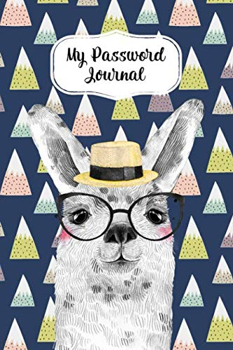 My Password Journal Password Keeper Book Fun Llama Cover: Alphabetized Logbook To Store Usernames, Passwords, Home Network, Serial Numbers & Notes