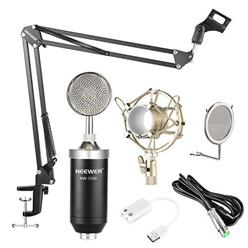 Neewer NW-1500 Professional Estudio Micrófono Condensador