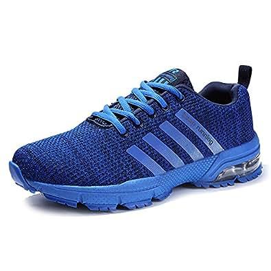 Sportive Scarpe da Lavoro Uomo - Uomo Sneakers Scarpe da Corsa (39.5, Verde)
