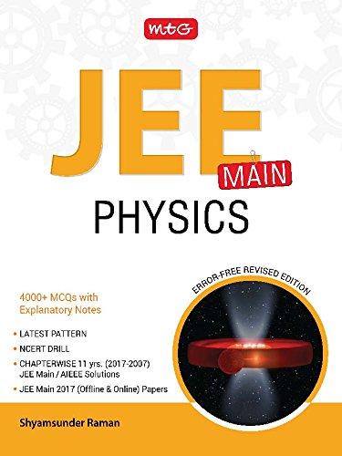 JEE Main Physics - 2017-2007