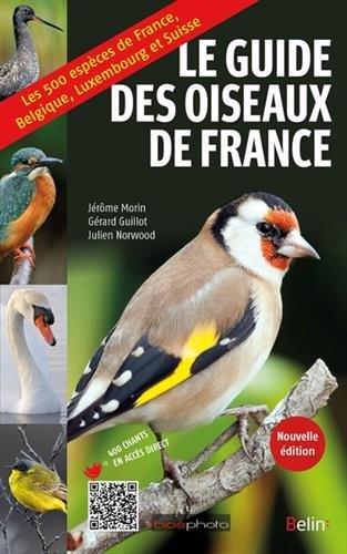 Guide des oiseaux de France par Jérôme Morin