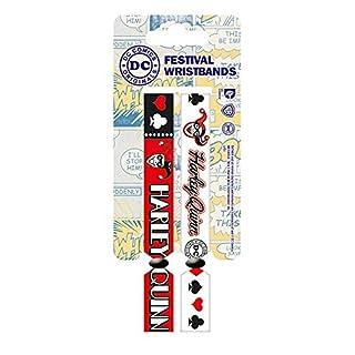 DC Comics FWR68049 Batman Armband, Mehrfarbig, 10mm breit