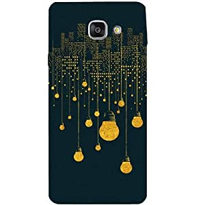 Casotec City Light Pattern Patterns & Ethnic Design Hard Back Case Cover for Samsung Galaxy A7 (2016)