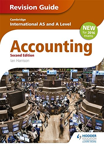 Cambridge International AS/A level Accounting Revision Guide 2nd edition (Cambridge Intl As/a Level)