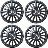 Wheel Cover 13 inch for Chevrolet UVA-Matte Black-Set of 4pcs