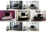 CAMA High Gloss TV Stand Entertainment Cabinet - 180cm Floating Wall Unit - 7 Colours
