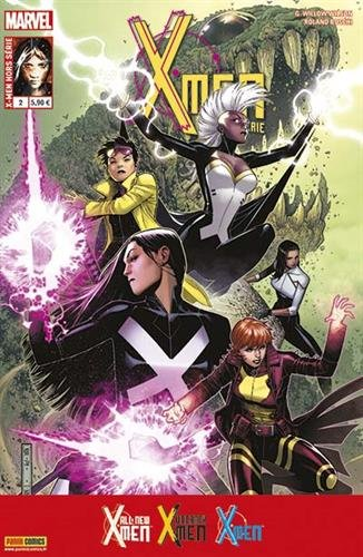 X-men hs 2 : la vie secrète d'Eva Bell & un monde en flammes