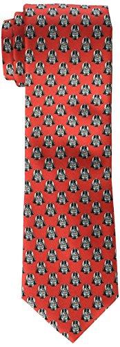 Star Wars corbata para hombre, diseño Darth Vader - Rojo -