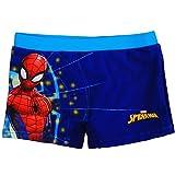 alles-meine.de GmbH Badehose / Badeshorts - Spider-Man - Größe 6 bis 7 Jahre - Gr. 122 bis 128 - für Jungen Kinder Badepants - Boxershorts Shorts mit Bein - Pants - Badeshort - M..