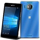 Microsoft Lumia 950 XL 5.7 4G/LTE PROTEKTOR case TPU transparent Tasche Hülle - Zubehör Etui cover Nokia Lumia 950 Dual Sim - XEPTIO accessoires