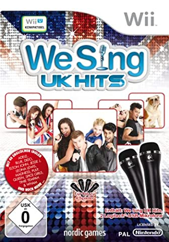 We Sing UK Hits (inkl. 2 Mikrofone)