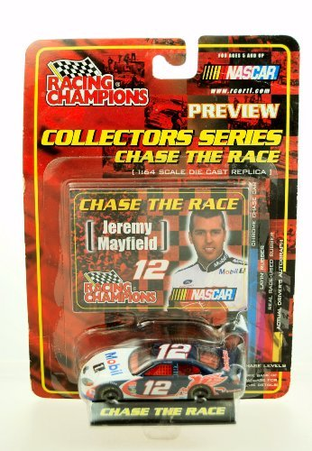 2001-ertl-racing-champions-nascar-chase-the-race-series-jeremy-mayfield-12-mobil-1-ford-taurus-164-s