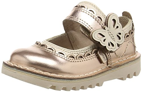 Kickers - Kick Doli, Mary Jane Sandali Bambina, Oro (gold), 22 EU