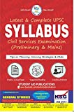 Syllabus for UPSC Exam