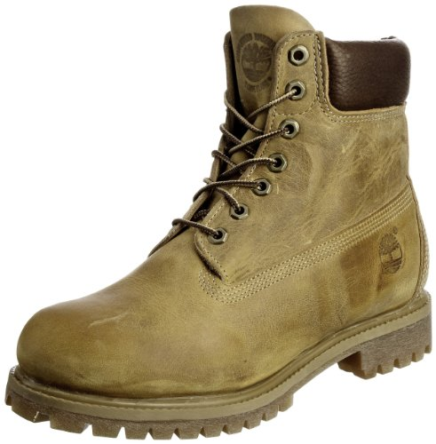 Timberland Af 6 In Annvrsry Org Brown, Stivali, Uomo, Giallo (Wheat Burnished Full Grain), 41